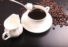 kawa, mleko i cukier