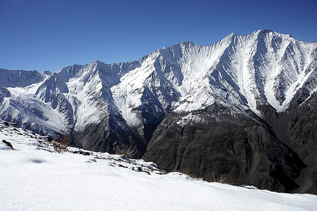 góry w pamirze