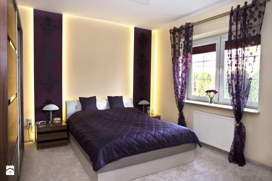 Fioletowe Wnętrza W Mieszkaniu Jak Nie Przesadzić A